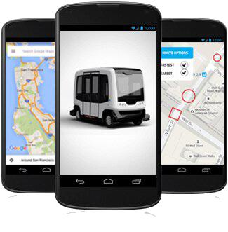 Driverless Shuttle App